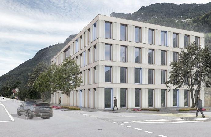 Projekt - Neues Dienstleistungsgebäude in Triesen